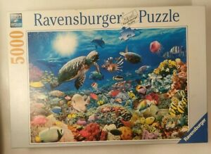 Ravensburger 5000 Piece Jigsaw Puzzle - Underwater Tranquility, Ocean Sea *READ*