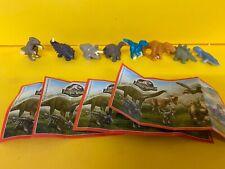 Komplettsatz Jurassic World Mini Gransorpresa ENA10 - ENA13 mit allen BPZ