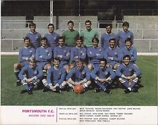 Football League Review No 408, 1969 / 70 Portsmouth Team Picture, Chelsea