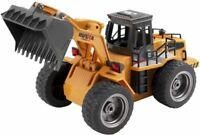 HUINA 1520 2.4G 1:18 6Channel Electronic Bulldozer Remote Control Truck RC Toy