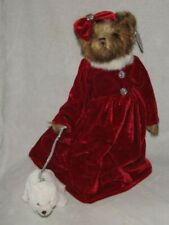 "Bearington Bears ""Krystal & Snowflake"" 16"" Collector Bear- Sku #173169 -NEW-2012"