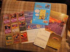 POKEMON NEO DISCOVERY 2 JAPANESE PROMO FOLDER 9 CARDS INC CHARIZARD MINT
