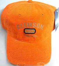New! NCAA Clemson Tigers Embroidered  Adjustable Back Cap