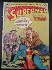 �� Superman #92 (1954 Dc Comics) Low Grade Book