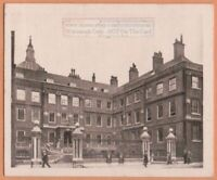 College of Arms London England  1920s Ad Trade Card
