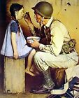 The American Way by Norman Rockwell 8 X 10 PRINT