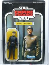 Star Wars Kenner ESD 41-C Imperial Commander MOC AFA 90 non perforé.