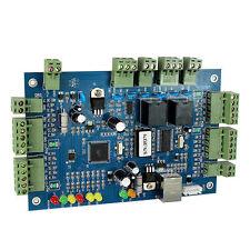 TCP/IP Network Door Access Controller Board Panel for 2 Door 4 Card Reader+track