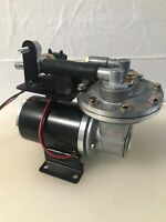 """Plug in Play"" 12 volt compact design Electric Vacuum Pump Kit for Brake Booster"