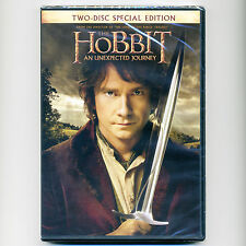 HOBBIT Unexpected Journey 2012 PG-13 fantasy adventure movie, new 2-disc DVD