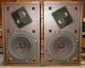 ADVENT ADVENT/2 2-WAY SPEAKERS WITH BRAND NEW WOOFER SURROUNDS