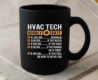 Funny Hvac Tech Gifts – Hvac Tech Hourly Rate Coffee Mug