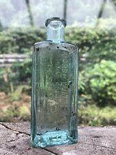 More details for veterinary bottle household oils morris evans & co ffestiniog north wales