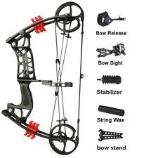 Compound Bow 30-55lbs Dual-use Steel Ball Archery Arrow Hunting Bowfishing