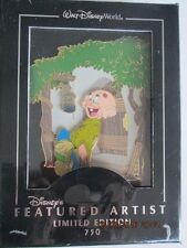 Disney's Featured Artist LE 750 Kissed by a Princess Jumbo Pin New w/Artist Bio