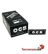 2500 CARTINE OCB NERE BLACK CORTE SINGOLE -BOX DA 50 LIBRETTI DI 50 CARTINE
