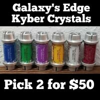 Pick 2 for $50 ~ Disney Star Wars Galaxy's Edge Kyber Crystals Black Spire