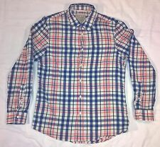 Jack Wills University Outfitters Long Sleeve Button Up Pocket Shirt Men's Medium