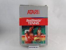 REALSPORTS TENNIS - ATARI 2600 e 7800 PAL EU EUR ITA ITALIANO ORIGINALE COMPLETO