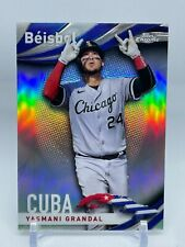 2021 Topps Chrome Yasmani Grandal #B-15 Beisbol Insert Chicago White Sox Card