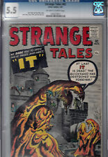 Strange Tales #82 (Mar 1961, Atlas) Cgc 5.5 (F-) Jack Kirby & Don Heck cover