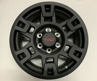 "Genuine Toyota TRD Pro 17"" Matte Black Wheels Tacoma, 4Runner Single Wheel OEM"