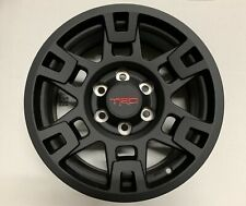 "Genuine Toyota Trd Pro 17"" Matte Black Wheels Tacoma, 4Runner Set of 4 Oem"
