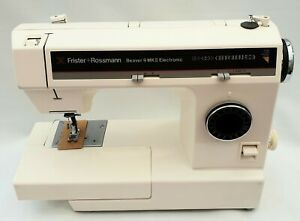 NEW Frister & Rossmann Beaver 9 Semi Industrial Automatic Sewing Machine.