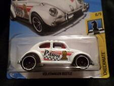 Hw Hot Wheels 2018 Hw Checkmate #8/9 Volkswagen Beetle White Hotwheels Vhtf