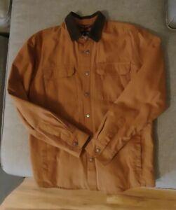 Volcom Mens Larkin Jacket, Brown, size M *NEW*