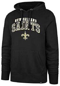 New Orleans Saints Men's Arch Pullover Hoody Sweatshirt - Black