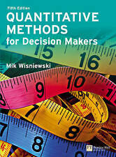 Quantitative Methods for Decision Makers with MyMathLab Global, Mik Wisniewski,