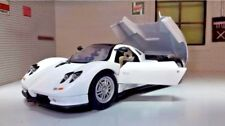 G 1:24 Scale Pagani Zonda C12 Detailed Motormax Diecast Model Car White