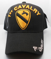1st Cavalry Ball Cap Hat in Black Nwt New H31