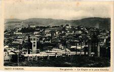 CPA  Saint-Étienne - Vue générale -Le Clapier et le puits Chatelus   (226210)