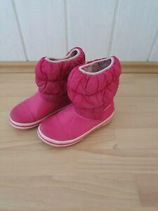 CROCS Mädchen Schuhe Herbst / Winter Stiefel Boots Gummistiefel Gr. 32/33