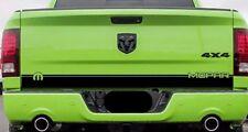 Ram 1500 Sport Mopar Tailgate Stripe Decal Hemi Dodge Truck 2009-2018 .