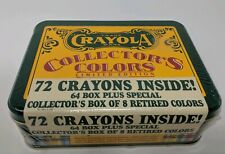 Crayola Crayons Collector's Colors Limited Edition Tin Can Retired Colors