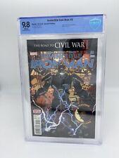 Invincible Iron Man #9 2nd Print 1st Riri Williams &cover Ironheart CBCS9.8