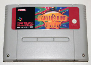 *PAL Version* Earthbound Uncut English Game For Super Nintendo SNES Mother 2