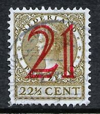 Netherlands 1930 - Queen Wilhelmina with Surcharge - used