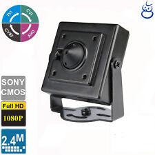 HD-TVI,CVI, AHD, Analog Spy Pinhole  2.4MP 1080p HD  3.7mm  Camera CCTV