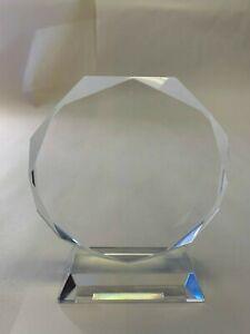 Glass Trophies x3 Engravable (T8431)