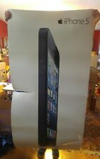 "000 Large Plastic Apple iPhone 5 Store Display 2012  36"" x 72"" Rare"