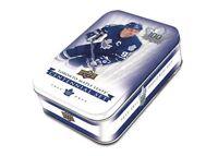 2017-18 Upper Deck UD Toronto Maple Leafs Centennial Tins TML