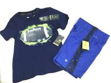 Boys Xersion Active T Shirt And Shorts Set Size 5 New