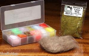 SENYO'S LASER DUB YARN BOX #2 - Dubbing Dispenser --  Fly Tying