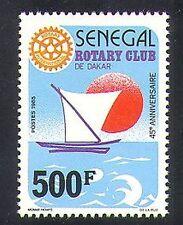 Senegal 1987 Rotary Club/Boat/Sun/Welfare/Health/People/Organisations 1v n36578
