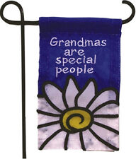 MINI GARDEN FLAG FOR FLOWER POT - GRANDMAS ARE SPECIAL PEOPLE - JEANE'S THINGS