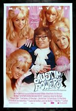 AUSTIN POWERS * CineMasterpieces ORIGINAL FEMBOT NM-M MOVIE POSTER 1997